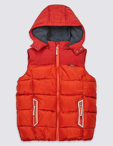 2 Pocket Hooded Gilet with Stormwear™ (3-14 Years)