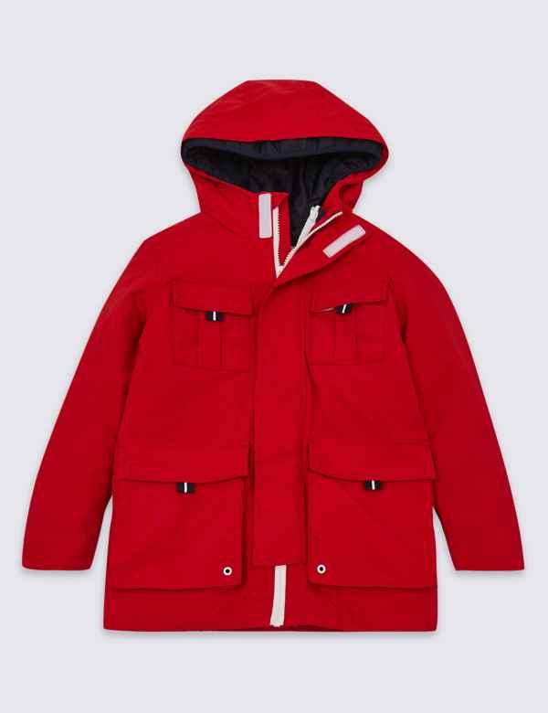 c6174a554a45 Boys Red Coats   Jackets