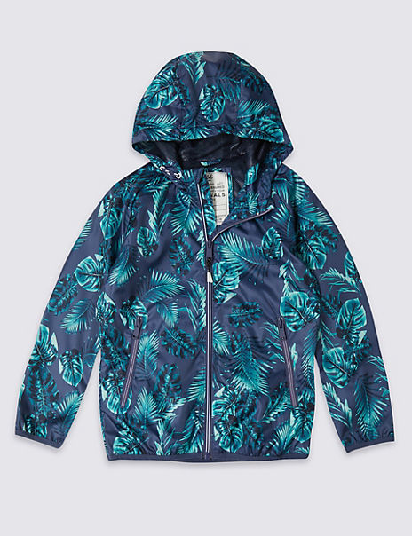 All Over Print Tropical Jacket (3-16 Years)