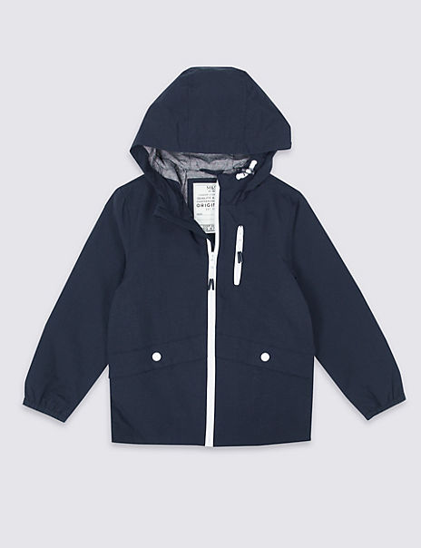 Lightweight Hooded Parka (3-16 Years)