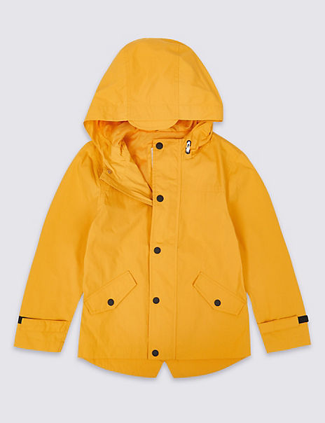 Lightweight Hooded Jacket (3-16 Years)