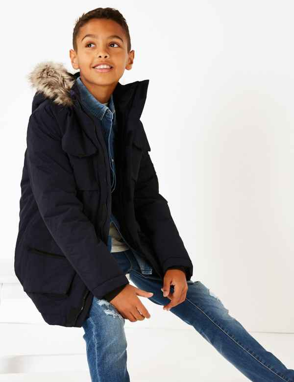 b0425d2304d All Boys Coats | Padded & Quilted Coats for Boys| M&S