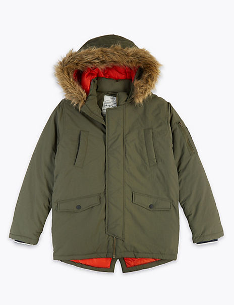 Hooded Parka (3-16 Years)