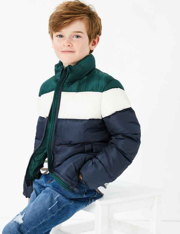 ebca15260 Boys School Coats   School Jackets for Boys   M&S