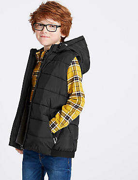 Hooded Gilet (3-16 Years)