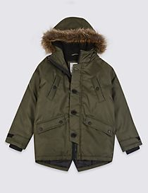 Lightly Padded Parka (3-16 Years)