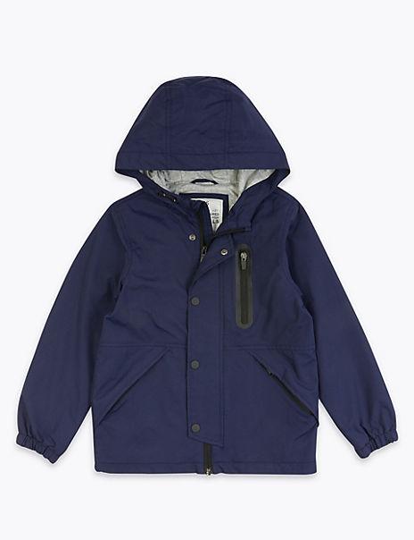 Stormwear™ Hooded Anorak Coat (6-16 Years)