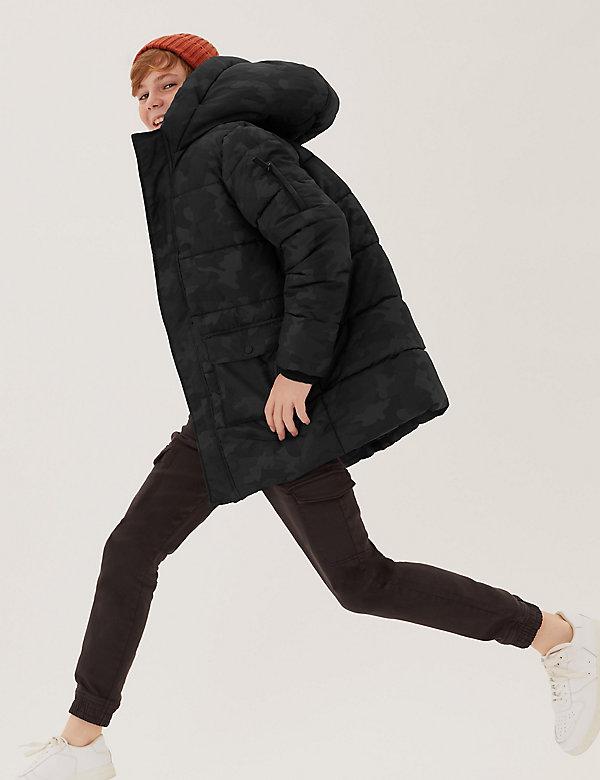 The Stormwear™ Longline Padded Coat  (6-16 Yrs)