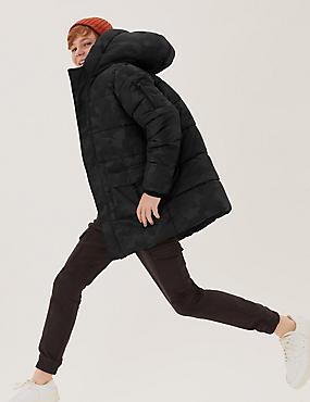 Μακρύ παλτό με επένδυση Stormwear™ (6-16 ετών)