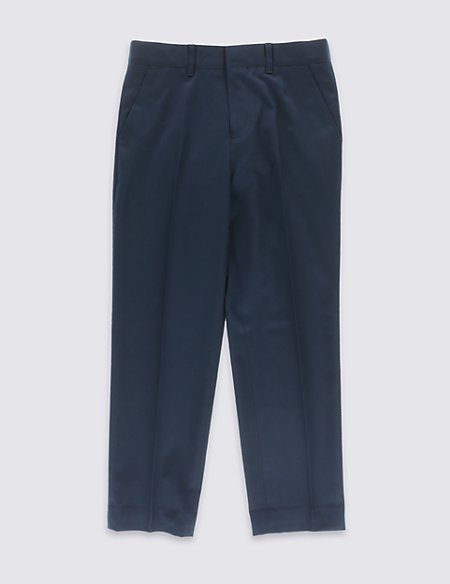 Classic Flat Front Trousers (5-14 Years)