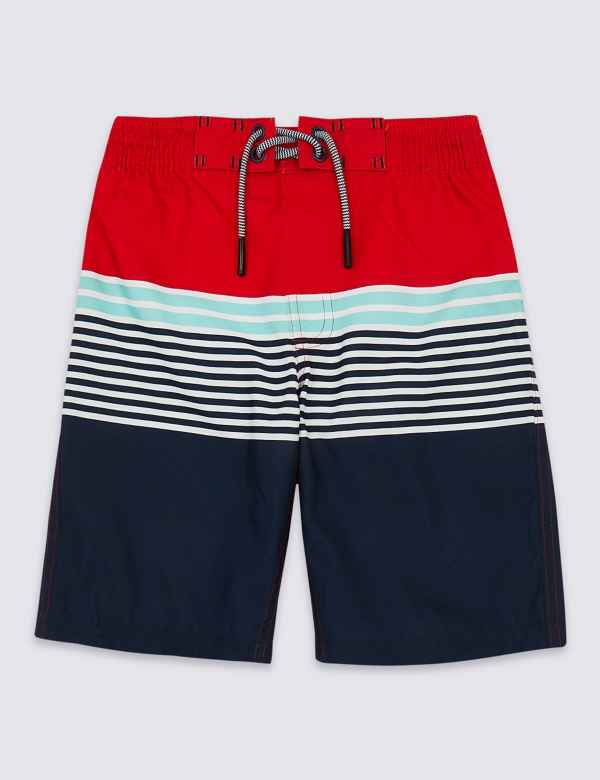 d6aa91b1ce Sustainable Colour Block Swim Shorts (3-16 Years)