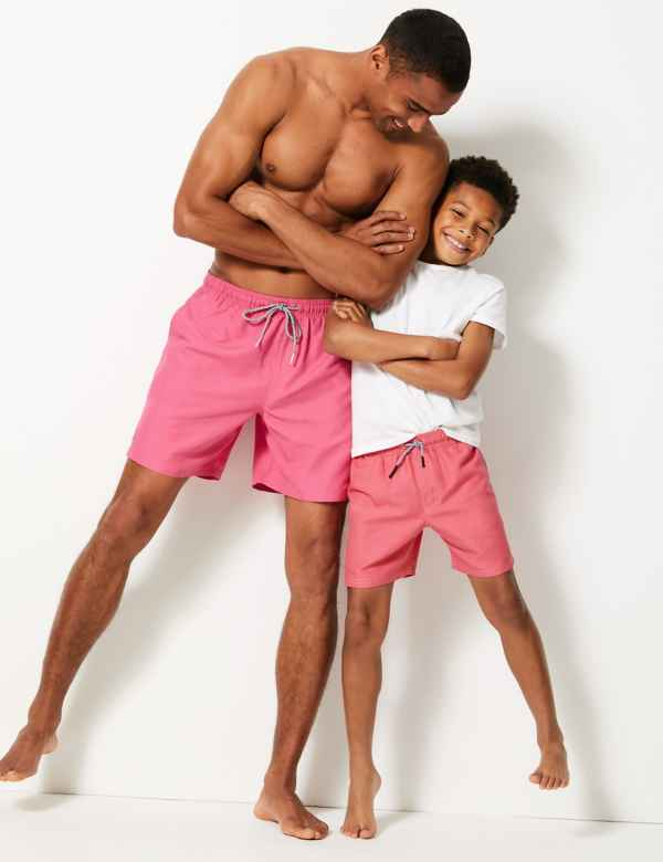 05a11ab101 Sustainable Drawstring Swim Shorts (18 Months - 16 Years)