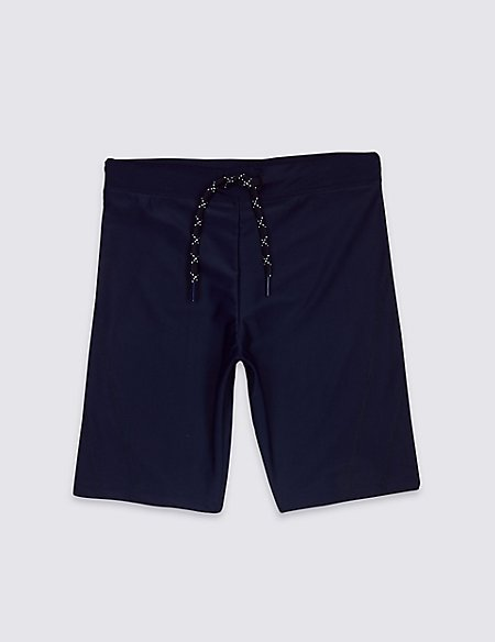 Long Line Swim Shorts (3-14 Years)