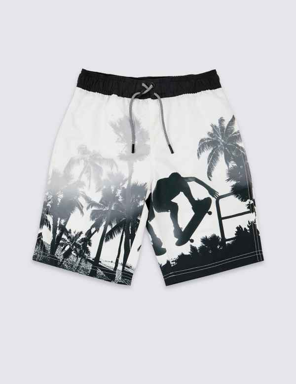 21db1fad2a529 Sustainable Photographic Board Swim Shorts (3-16 Years)