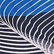 Sustainable Diagonal Stripe Swim Shorts (3-16 Years), MULTI, swatch