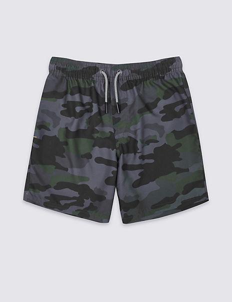 Sustainable Camouflage Swim Shorts (3-16 Years)
