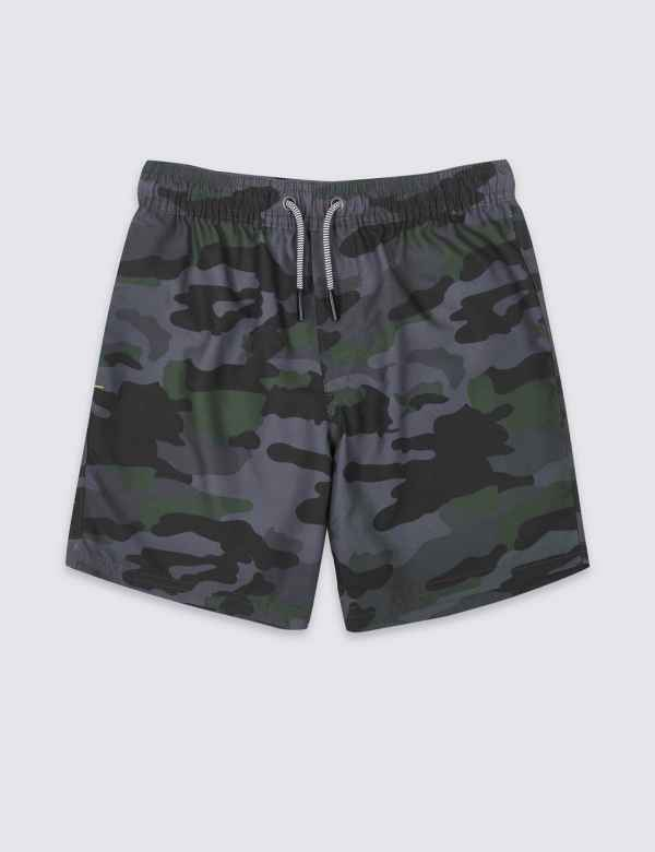 096494aab76 Sustainable Camouflage Swim Shorts (3-16 Years)