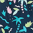 Sustainable Leaf Print Swim Shorts (3-16 Years), MULTI, swatch