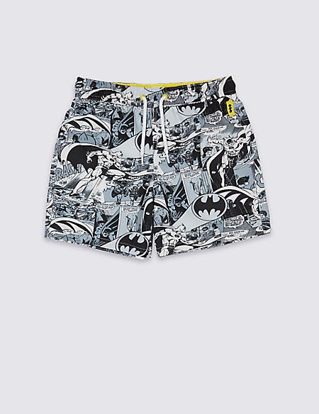 Batman™ Swim Shorts with Sun Safe UPF50+ (3-16 Years)