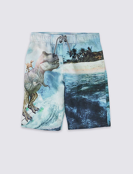 Sustainable Photographic Swim Shorts (3-16 Years)