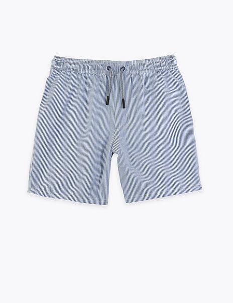 Striped Swim Shorts (6-16 Years)