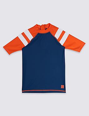 Rash Vest with Sun Safe UPF50+ (3-16 Years)