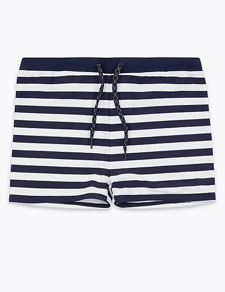 Striped Swim Shorts (6-16 Years)