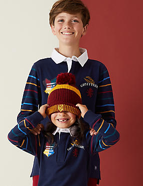 Pure Cotton Harry Potter™ Rugby Top (2-16 Yrs)