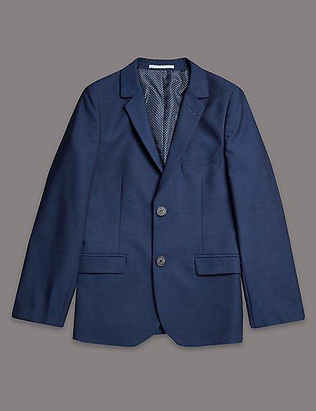 2 Button Notch Lapel Jacket (5-14 Years)