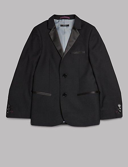 Notch Lapel 2 Button Jacket (5-14 Years)