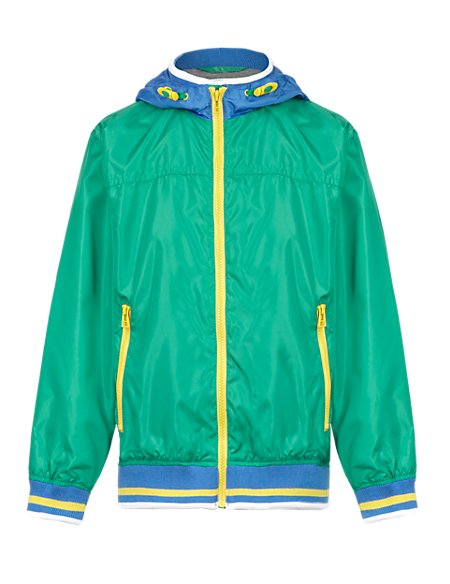 Hooded Bomber Jacket with Stormwear™