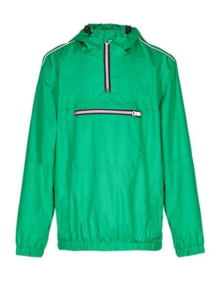 Hooded & Zipped Mac with Stormwear™ (5-14 Years)
