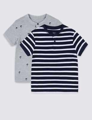 a34f7a16d 2 Pack T-Shirts (3 Months - 7 Years) £10.00 - £14.00