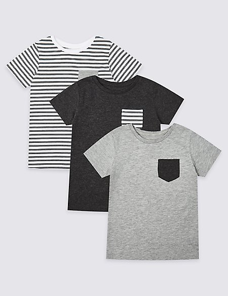 3 Pack Tops (3 Months - 7 Years)