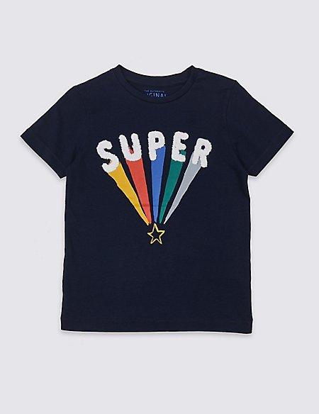 Pure Cotton Super T-Shirt (3 Months - 7 Years)