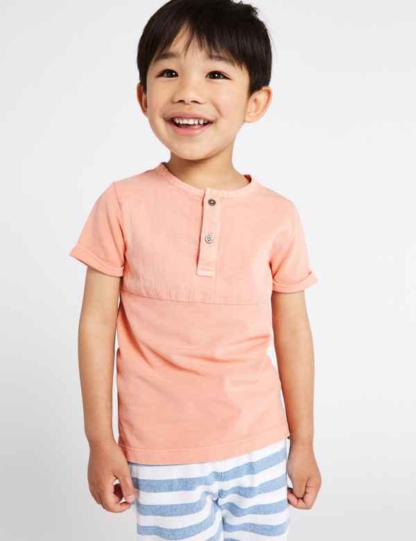 c7c8f6b03 Boys T Shirts | Plain & Printed T Shirts for Boys| M&S