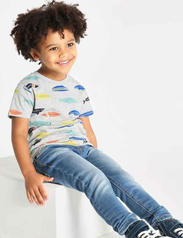 ae4255a07 Surfboard Print T-Shirt (3 Months - 7 Years)