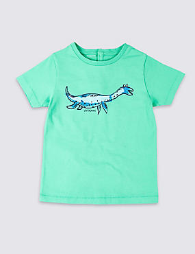 Easy Dressing Dino T-Shirt (3 Months - 7 Years)