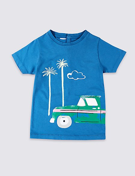 Easy Dressing Car T-Shirt (3 Months - 7 Years)