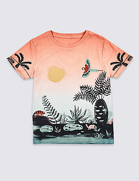 Pure Cotton Sunset Top (3 Months - 7 Years)