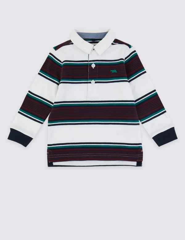 6a0f2e788de Striped Rugby Top (3 Months - 7 Years)