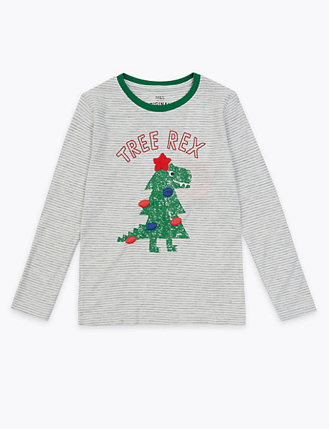 Tree Rex Print Top (3 Months - 7 Years)