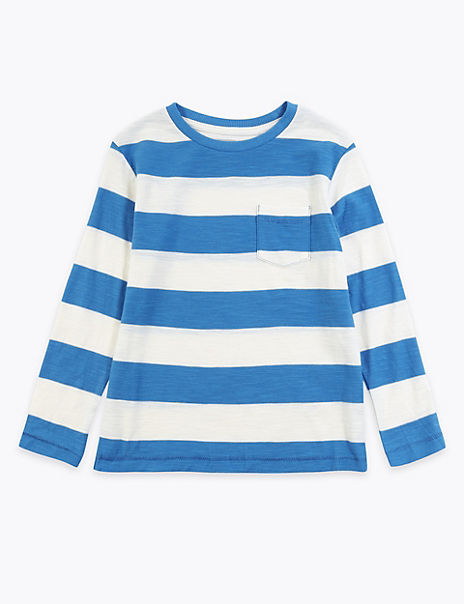 Cotton Striped Top (2-7 Years)