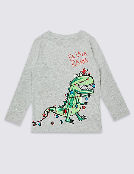 Cotton Rich Printed Top (3 Months - 7 Years)