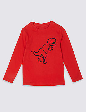 Easy Dressing Dinosaurs T-Shirt (3 Months - 7 Years)
