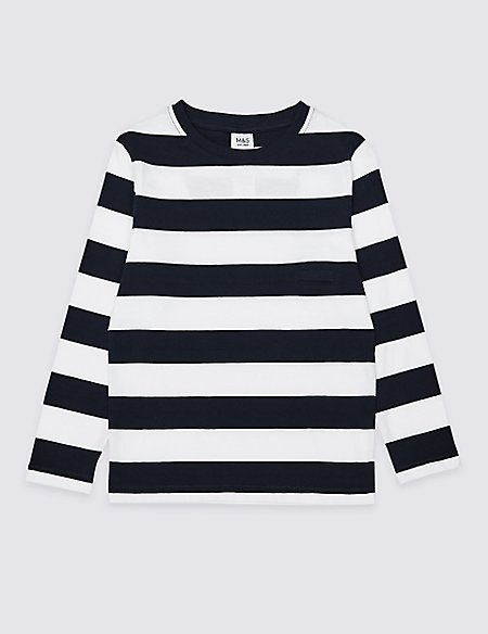 Easy Dressing Stripe Top (3 Months - 7 Years)