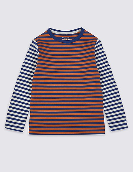 Cotton Striped Top (3 Months - 7 Years)