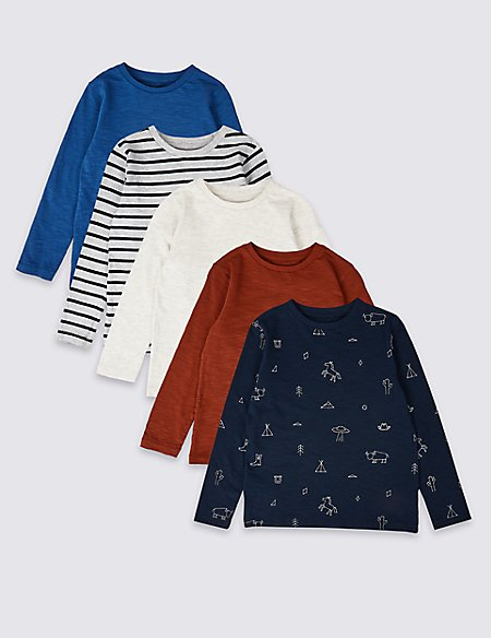 5 Pack Tops (3 Months - 7 Years)