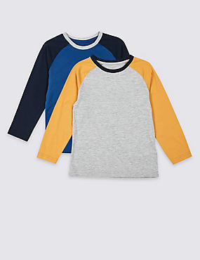 2 Pack Raglan Tops (3 Months - 7 Years)