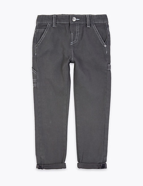 Cotton Carpenter Jeans (2-7 Years)